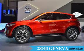 mazda car and driver mazda minagi concept previews cx 5 small crossover new kodo