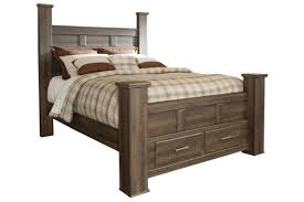 Bed Frame With Storage Jeri Queen Bed With Storage Footboard