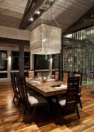 lighting fixtures dining room with contemporary square light