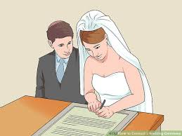 Planning A Wedding Ceremony 3 Ways To Conduct A Wedding Ceremony Wikihow