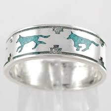wolf wedding rings western wedding ring pictures