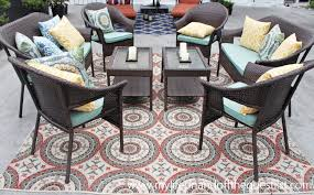 Kmart Patio Rugs Enhance Your Outdoor Space With Patio Furniture From Kmart