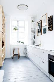 Floating Cabinets Kitchen Kitchen Small Vintage White Kitchen Design Barnwood Floor All