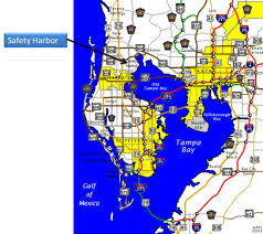 Map Of Tampa Area Accommodations