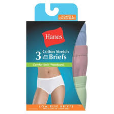 Hanes Our Most Comfortable Hanes Women U0027s Comfortsoft Waistband Cotton Low Rise Briefs