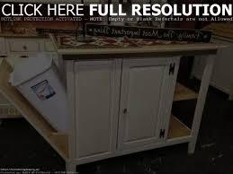 Kitchen Island With Trash Bin Kitchen Trash Bin Storage Cabinet Hidden Kitchen Island Mobile For