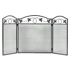 door fireplace screen with doors door screens glass dact us fire