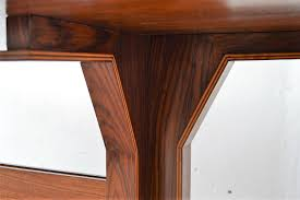 mid century italian rosewood dining table 1950s for sale at pamono