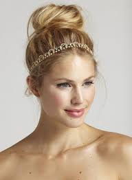 gold headbands wedding accessories spotlight fall in with amanda judge