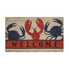 Home Fresh by Mohawk Home Fresh Nautical Welcome 18 In X 30 In Recycled Rubber