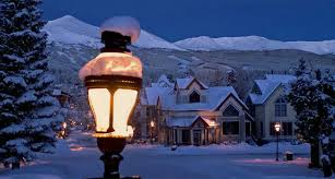 Main Street Lighting Triangle Electric Breckenridge Colorado