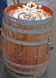 How To Lite A Fire Pit - convert a wine barrel into a safe outdoor firepit