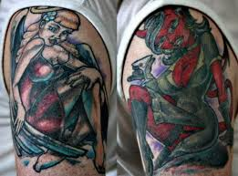devil tattoo designs on shoulder tattoos book 65 000