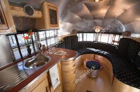 kitchen cool airstream trailers storage cabinet backsplash glass
