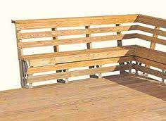 Build Deck Bench Seating Adding A Bench Seat To An Existing Deck Diy Pinterest Bench