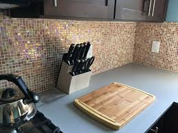 burnt orange hue kitchen backsplash mosaic tile ottawa inside