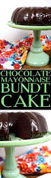 Halloween Bundt Cake Chocolate Mayonnaise Bundt Cake Lord Byron U0027s Kitchen