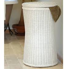 decorative laundry hampers tall wicker white laundry basket tall white laundry bin candle and
