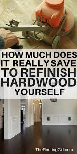Diy Hardwood Floor Refinishing Hardwood Floor Sanding Diy Vs Hiring A Professional Refinisher
