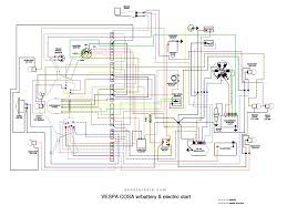 wiring diagram vespa corsa omah vespa