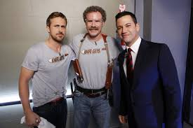 Seeking Will Ferrell Gosling Will Ferrell Knife Guys Jimmy Kimmel Live Time
