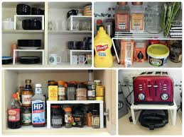 Cabinet Organizers For Kitchen Functional Kitchen Cabinet Storage Ideas To Make Tidy Appearance