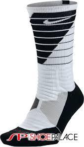 Nike Hyper Elite Quarter Socks Nike Sx5138 101 Hyper Elite Basketball Mens Crew Socks White
