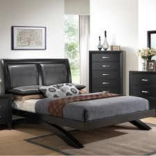 King Upholstered Platform Bed Crown Mark Beds Galinda B4380 King Upholstered Platform Bed King