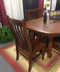 Arts And Crafts Dining Room Furniture Solid Wood Arts And Crafts Trestle Dining Table