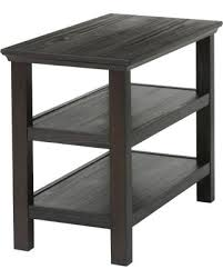 Nightstand With Shelves Great Deal On Gilford 2 Shelf Side Table Threshold Black