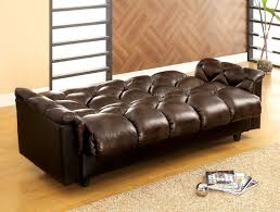 Furniture Of America 2120 Two Tone Brown Storage Futon Sofa Bed