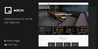 architecture layout design psd arch decor interior design architecture and building business psd