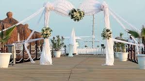 wedding ceremony arch flowers for wedding ceremony wedding arch background stock