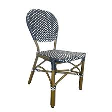 Navy Bistro Chairs Table In A Bag Cbcbbw All Weather Wicker Café