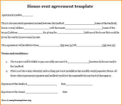 7 house lease template bibliography format