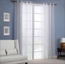 Grommet Kitchen Curtains Kitchen Curtains 96 Inches Long Valance And Tier Curtain Sets