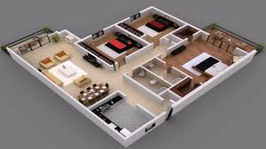 House Plans And Designs For 3 Bedrooms 3 Bedroom House Floor Plans In Pakistan