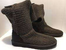 sweater boots with buttons ugg australia s cotton boots ebay