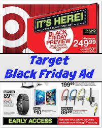 when is target black friday sale 2016 target black friday deals 2016
