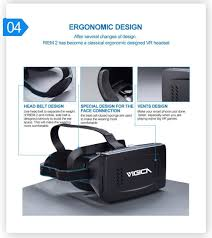 virtual reality 3d video glasses for 46 inch home shopping