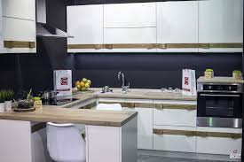 Stylish Kitchen Ideas Kitchen Design Ceramic Tile Backsplash Glamorous White And Gray