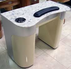 Nail Tech Desk by Elegant Manicure Tables For Your Nail Shop The New Way Home Decor