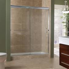 Shower Room Door Marina Collection 3 8 Frameless Sliding Shower Doors Foremost Bath