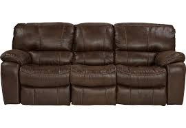 Leather Reclining Chairs Cindy Crawford Home Alpen Ridge Brown Reclining Sofa Sofas Brown