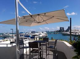 Jaavan Patio Furniture by Outdoor Use Cantilever Umbrella To Keep The Sun Out While You