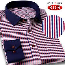 french cuff button formal dress shirt non iron long sleeve shirt