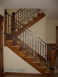 home interior railings mclean forge and welding custom indoor railing boulder co