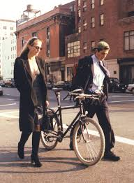 october 23 1996 u2013 walking on varick st carolyn bessette