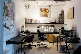 Loft Works 5 My 4000sqft Inside Artist Chad Lewine U0027s Minimal Vibrant Live Work