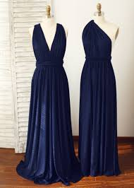 navy blue bridesmaid dresses navy blue infinity jersey bridesmaid dress